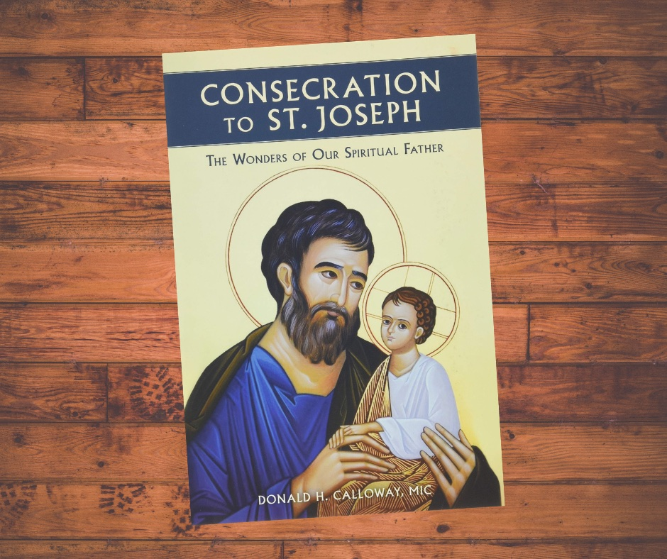 Image of Consecration to St Joseph book